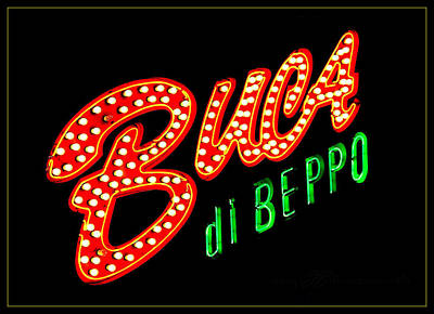 Photograph - Buca Di Beppo Kcmo by Stephanie Hollingsworth