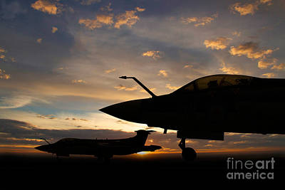Buccaneer Sunset Art Print by J Biggadike