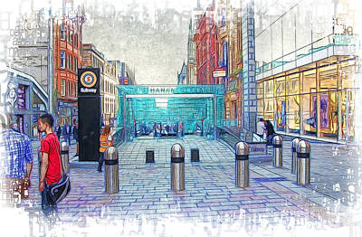 Photograph - Buchanan Street Subway by Fiona Messenger