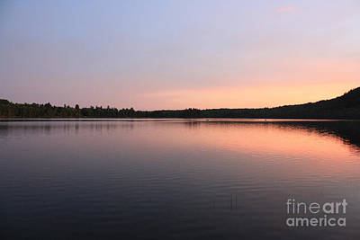 Buck Pond At Dusk Art Print by Paul Cammarata