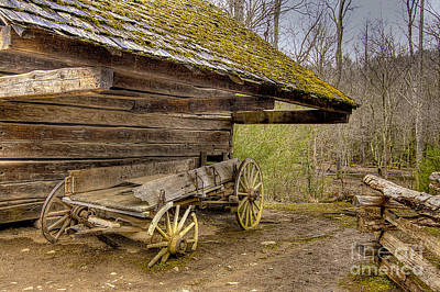 Photograph - Buckboard by Photography by Laura Lee