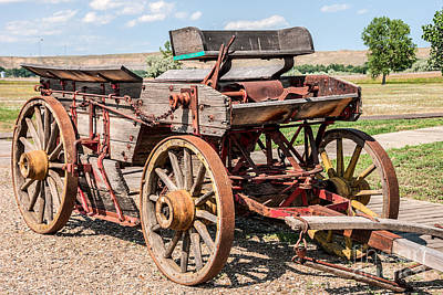 Photograph - Buckboard Wagon by Sue Smith