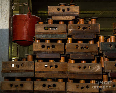 Photograph - Bucket And Spools by Dale Nelson