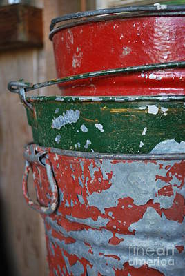 Photograph - Bucket by Terri Oberg