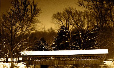 Photograph - Buckeye Lake Ohio by David Yocum