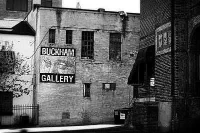 Photograph - Buckham Gallery Black And White by Scott Hovind