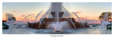Buckingham Fountain Wall Art - Photograph - Buckingham Fountain In Chicago by Twenty Two North Photography