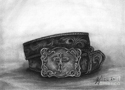 Drawing - Buckled by J Ferwerda