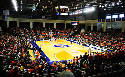 Bison Photograph - Bucknell Bison Sojka Pavilion by Replay Photos