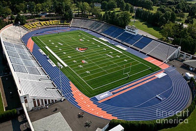 Bucknell Photograph - Bucknell University Football Stadium by Anthony Salerno