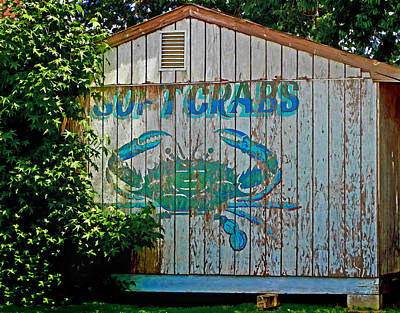 Buckroe Crab Shack Art Print