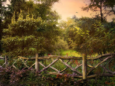 Intimate Garden Photograph - Bucolic by Jessica Jenney