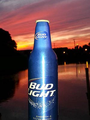 Photograph - Bud Light Smooth And Refreshing by Danielle Allard