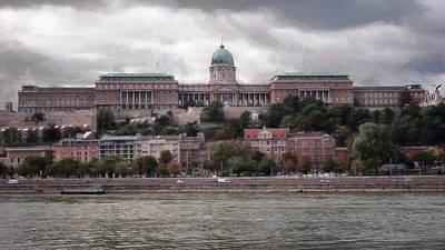 Europe Photograph - Buda Castle Facade by Joan Carroll