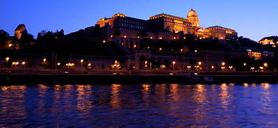 Photograph - Buda Castle  Nightscene by Caroline Stella