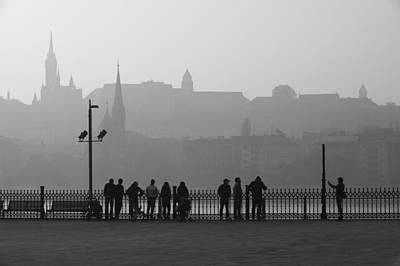 Photograph - Buda Castle View From Kossuth Square by Judith Barath
