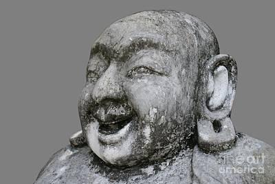 Budai Photograph - Budai On Gray by Gregory Smith