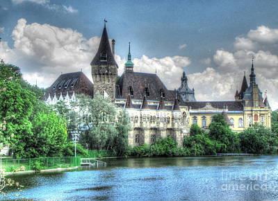 The Church Mixed Media - Budapesht Hungary Castl by Yury Bashkin
