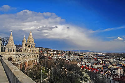 Photograph - Budapest And Fisherman's Bastion by Elvis Vaughn