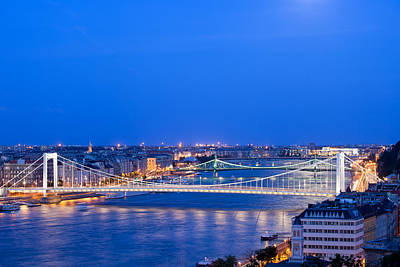 Budapest Hungary Attractions Photograph - Budapest At Dusk by Artur Bogacki