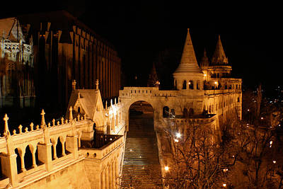 Photograph - Budapest At Midnight by Jon Emery