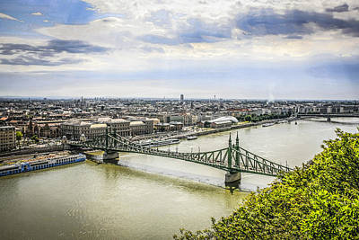 Cargo Boats - Budapest by Chris Smith