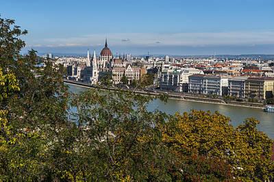 Photograph - Budapest City by Pam  Elliott