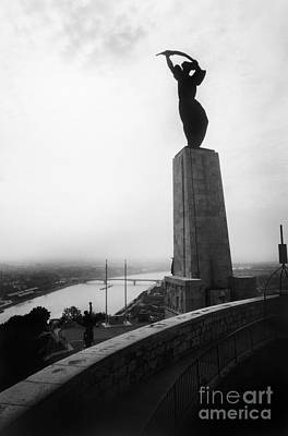 Anti Nazism Photograph - Budapest: Liberation Statue by Granger