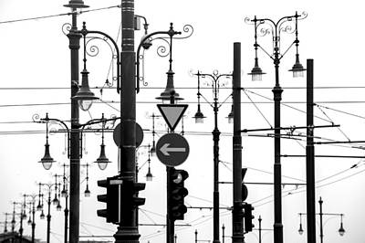 Photograph - Budapest Light Features by Judith Barath