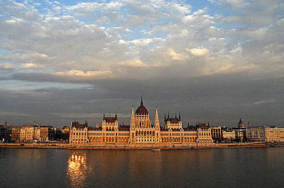 Photograph - Budapest Parlament  by Doug Davidson