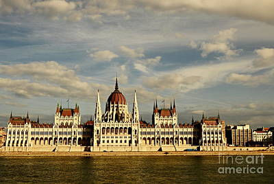 Photograph - Budapest Parliment by Steven Liveoak