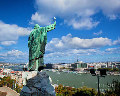 Budapest. View From Gellert Hill Art Print