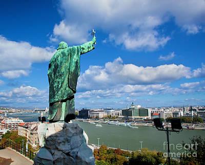 Photograph - Budapest. View From Gellert Hill by Michal Bednarek