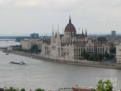 Budapest Tours Photograph - Budapest View by Yury Bashkin