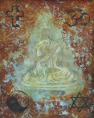 Painting - Budda by Jeffrey Oldham