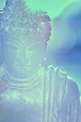 Peace Photograph - Buddah Bokeh by Cindy Greenstein
