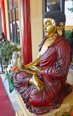 Photograph - Buddha - 09 by Gregory Dyer