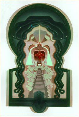 Painting - Buddha 1975 by Glenn Bautista