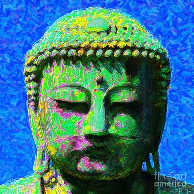 Buddha 20130130p0 Art Print by Wingsdomain Art and Photography