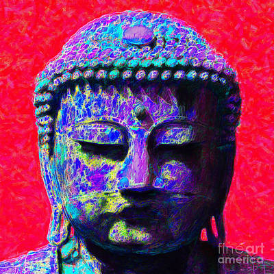 Buddha 20130130p128 Art Print by Wingsdomain Art and Photography