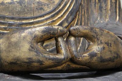 Art Print featuring the photograph Buddha 3 by Lynn Sprowl