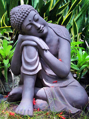 Photograph - Buddha 4 by Dawn Eshelman