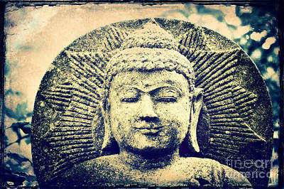 Inner World Mixed Media - Buddha by Angela Doelling AD DESIGN Photo and PhotoArt