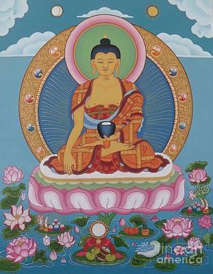 Buddha Arising Art Print by Andrea Nerozzi