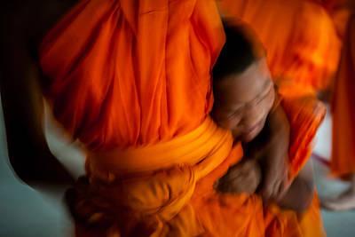 Photograph - Buddha -boys Will Be Boys - Colour Version by Dean Harte