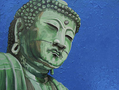Painting - Buddha by Deirdre DeLay