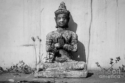 Buddha - Devotional V Art Print by Dean Harte