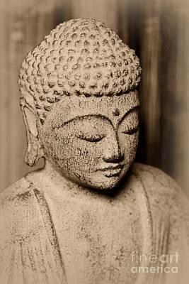 Gautama Photograph - Buddha Enlightened by Paul Ward