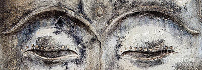 Art Print featuring the photograph Buddha Eyes by Roselynne Broussard