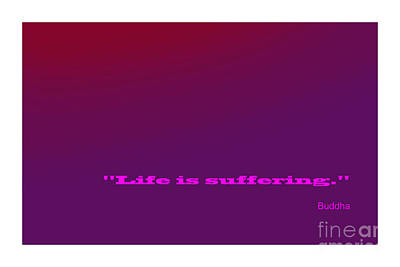 Digital Art - Buddha Famous Quote by Enrique Cardenas-elorduy